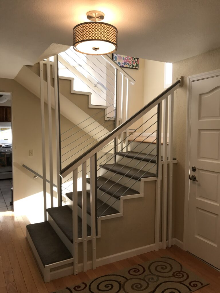 Modern Staircase Remodel